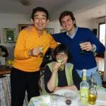 Tomoshy e Minako